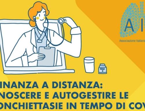 Vicinanza a distanza:conoscere e autogestire le bronchiettasie in tempo di COVID-198 nuovi webinar con i nostri esperti
